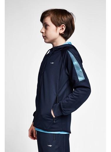 Lescon Lacivert Mavi Çocuk Kapüşonlu Üst 20B-3015 Lacivert